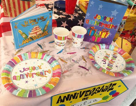d 233 coration de table pour pr 233 parer un anniversaire original