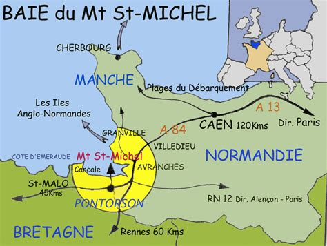 carte mont michel images frompo