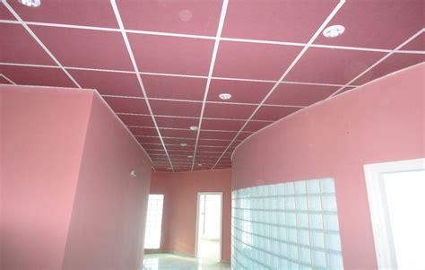 faux plafond fixe et demontable knauf placo plafond algerie