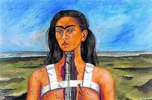 Frida Kahlo Kunstwerk : schmerz in kunst bersetzt mannheimer morgen fnweb ~ Markanthonyermac.com Haus und Dekorationen