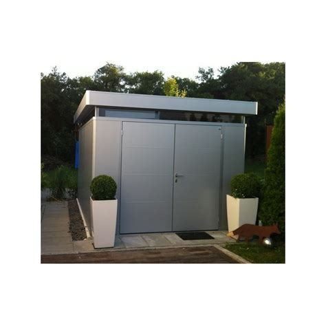 abri casanova isol 233 largeur 4m biohort simple ou portes