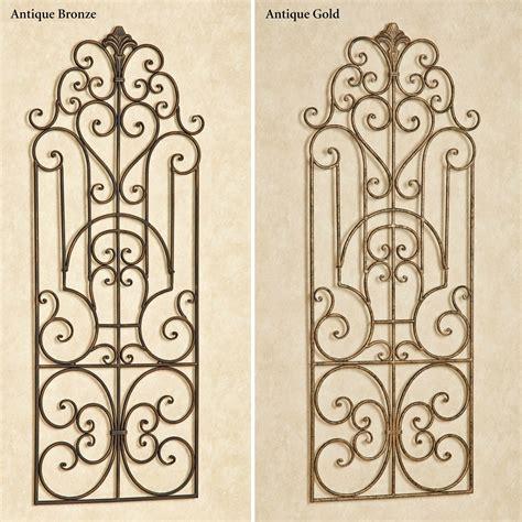 antonello indoor outdoor wrought iron wall grille