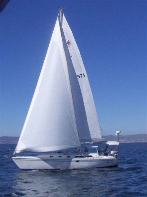 Angel Boat Cruises by Catalina 42 Foot Luxury Sailboat Sailing On Sweet Angel