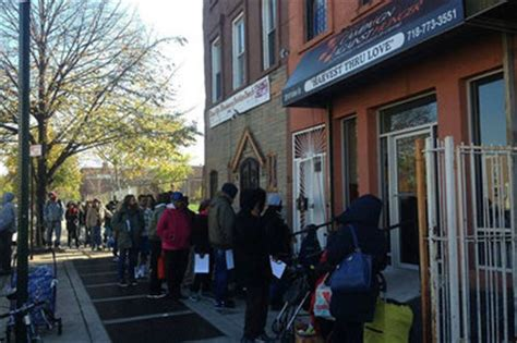 bed stuy food pantry hosts mock shop fundraiser for hunger awareness bed stuy new york