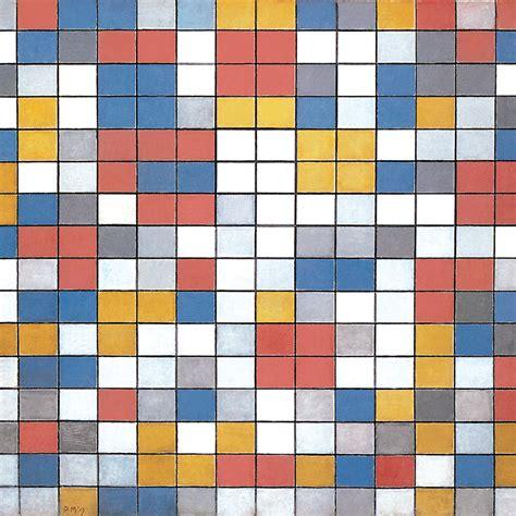 Piet Mondrian by Mondrian Big Paintings Piet Mondrian