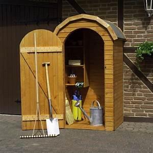 Gerätehaus Holz Klein : holz ger teschrank roma klein ger tehaus schuppen schrank haus garten ger teschr nke ~ Markanthonyermac.com Haus und Dekorationen