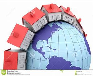 Global Real Estate Royalty Free Stock Photos - Image: 27656718