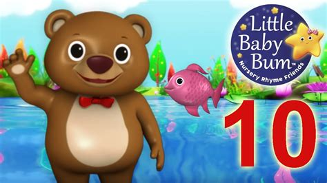 12345 Once I Caught A Fish Alive!  Nursery Rhymes Hd