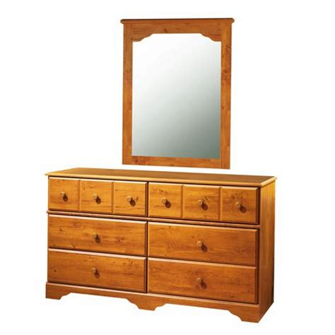 dressers with mirrors at walmart south shore treasures 6 drawer dresser