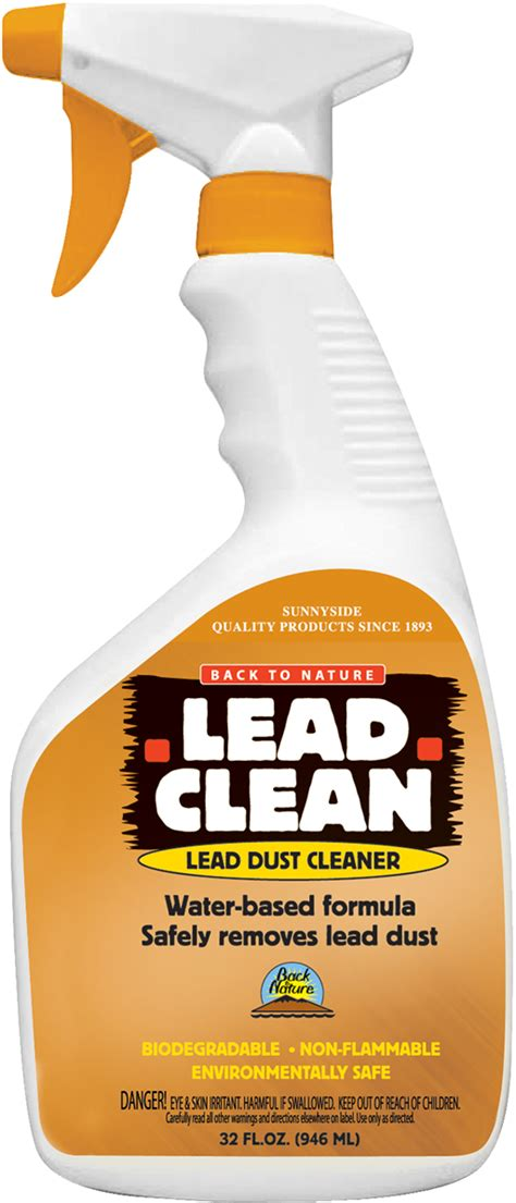 back to nature lead clean quart
