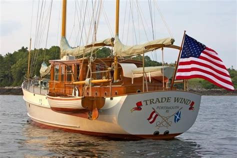 Motor Boats For Sale In Europe by 1938 Alden Motor Sailer Sail Boat For Sale Www