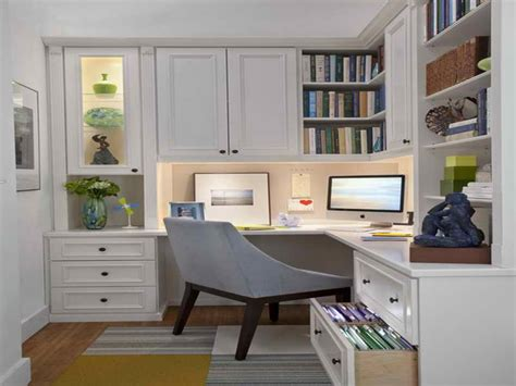 Cabinets For Small Spaces, Home Office Design Examples