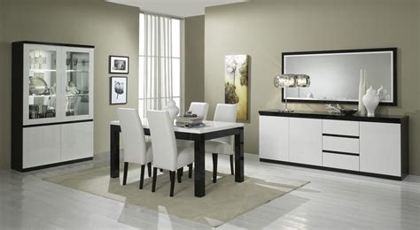 salle manger complete blanc laque galerie avec salle a manger laque blanc pas cher images