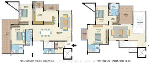 2866 sq ft 4 bhk 4t apartment for sale in nitesh caesars palace talaghattapura bangalore