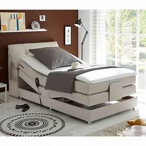 Betten 120x200 Dänisches Bettenlager : boxspringbett concort bett stoff komfortbett mit motor und topper120x200 cm ebay ~ Markanthonyermac.com Haus und Dekorationen