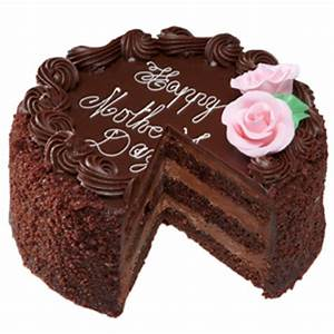Send Mother's Day Chocolate Cake - 1 kg to India | Gifts ...