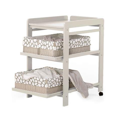 table 224 langer comfort avec roues grisato quax pour chambre enfant les enfants du design