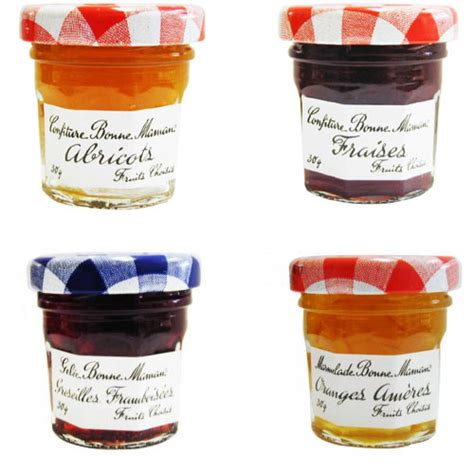 confiture portions bonne maman pot verre parfums assortis x 60 bonne maman epicerie pro