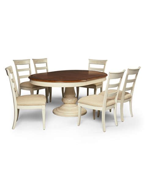 coventry dining room furniture 7 set table and 6 side chairs furniture macy s