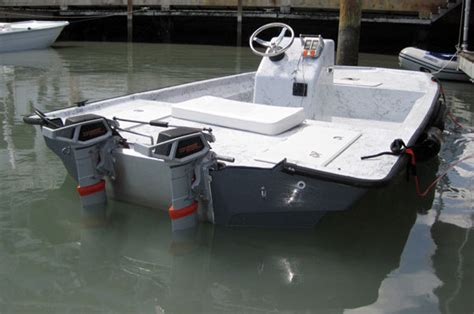 Bay Boat With Twin Engines by Torqeedo Electric Outboards Boats