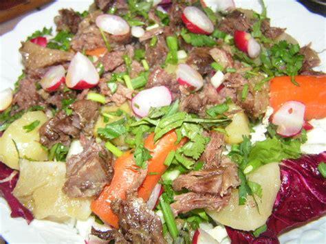 salade tiede de pot au feu au parfum d asie cuisine saveurs d ici et d ailleurs