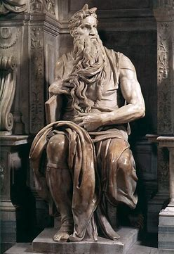 Image result for Moses by Michelangelo