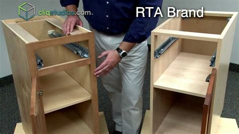 Cliqstudios Vs Ready To Assemble Cabinets, Rta Cabinets