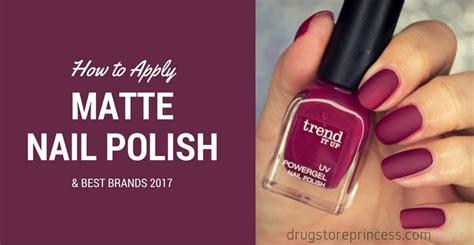 Nail Polish Matte Pink