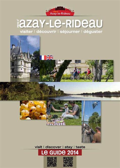 calam 233 o guide touristique de l office de tourisme du pays d azay le rideau