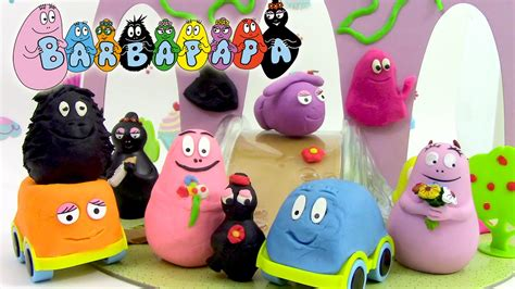 barbapapa p 226 te 224 modeler voyages de barbapapa play dough