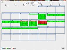 Free Access Calendar Template Calendar Template 2018