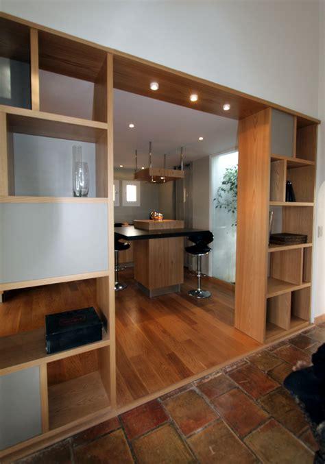 meuble separation cuisine salon collection et ateliers seewhy conception raalisation images