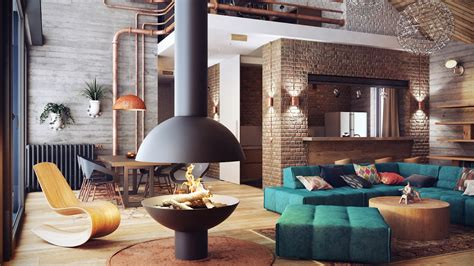 Home Interior Furniture : Industrial Lofts