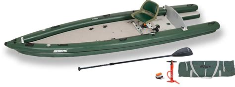 16 Inflatable Boat by Sea Eagle Inflatable Fishskiff 16 Fishing Boat