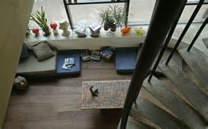 bolefloor curved plank flooring coming to the u s l a at home los angeles times