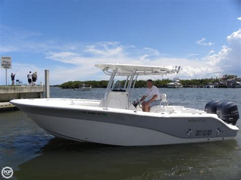 Boat R Fort Pierce by Sold Used 2015 Sea Fox 256 Commander Center Console In
