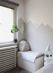 Ideen Für Kinderzimmer Wandgestaltung : mountain nursery wallpaint wandgestaltung im babyzimmer eat blog love ~ Markanthonyermac.com Haus und Dekorationen
