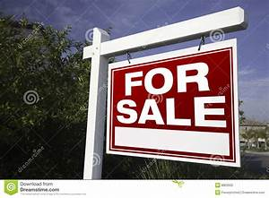 For Sale Real Estate Sign Stock Photography - Image: 8803932
