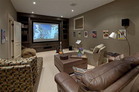 Media Room Color Schemes  Home Decorating Ideas