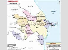 Baku Map Map of Baku City, Azerbaijan