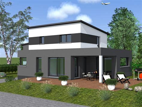 maison toit plat contemporaine maison moderne