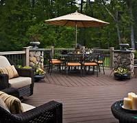 good looking design ideas for a small patio Home Decor Small Patio Deck Decorating Ideas With Umbrella ...