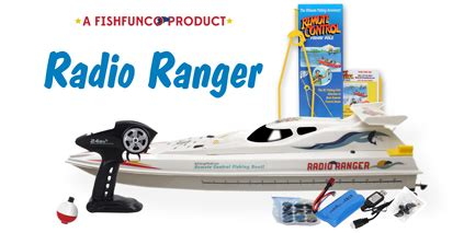 Toy Rc Fishing Jet Boat by Radio Ranger Remote Control Fishing Boat Catch S Real