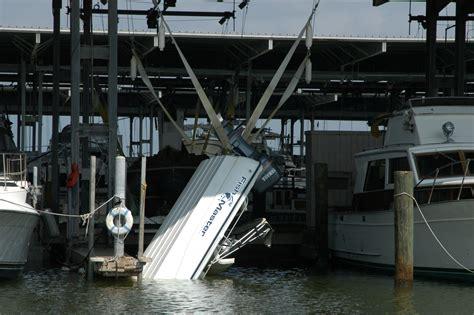 Boat Lift Strap by Damaged Boats Photos Press Room Boatus