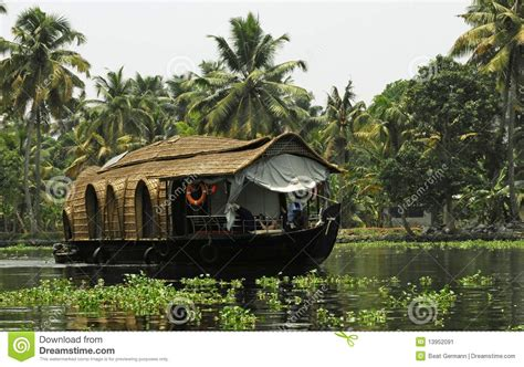 Kerala Boat House Vector by House Boat In Kerala India Stock Image Image 13952091