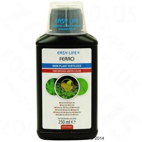 engrais pour plantes d aquarium easy ferro 192 prix avantageux chez zooplus