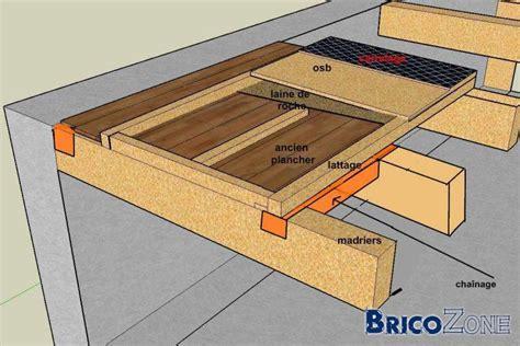 construire sur plancher pos 233 sur madriers