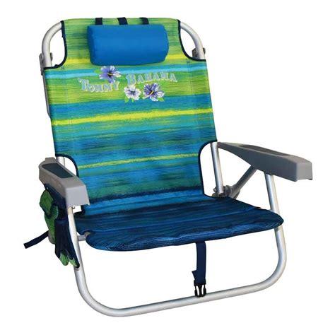 Bahama Folding Backpack Chair by Bahama Folding Chair Green Stripes