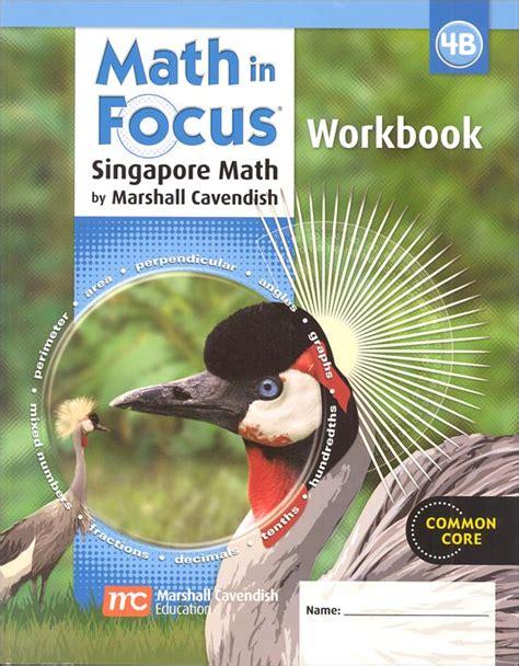 Math In Focus Grade 4 Workbook B (047476) Details  Rainbow Resource Center, Inc