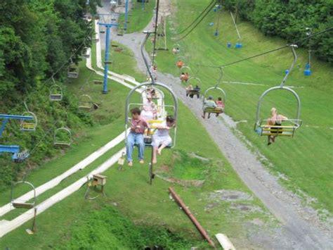 chairlift and alphine slide picture of ober gatlinburg amusement park ski area gatlinburg